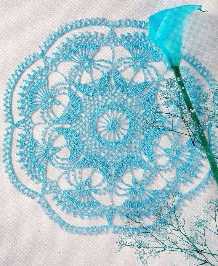Crochet Art: Doily - Gorgeous Crochet Doily http://4.bp.blogspot.com/-Dk70dUQz0e4/UIcJrWctaxI/AAAAAAAADR0/Fe6HkDPdAEg/s1600/Crochet%2BDoily%2Bpattern%2B15.jpg