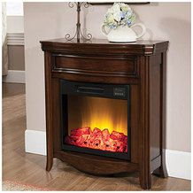 """28"""" Petite Foyer Fireplace 4800 BTUs from Big Lots $199.99 (SAVE $158 Compare To $358)"""
