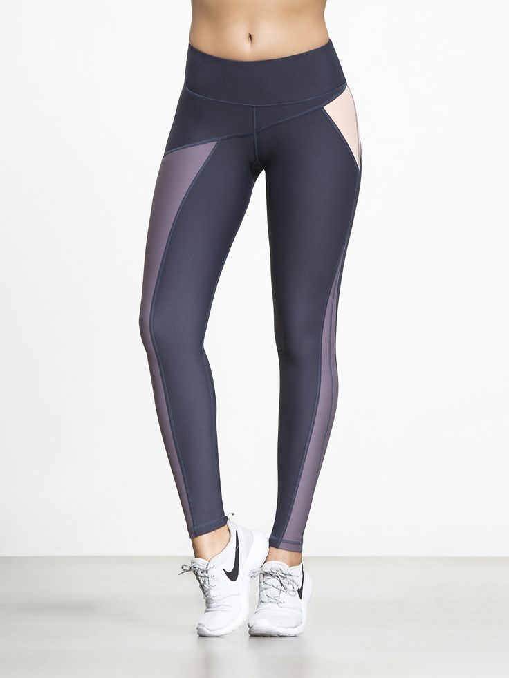 All the elements for perfection are here. The colorblocking, the contrast seaming (with extra compression) the moisture wicking fabric, a high-waisted design that keeps everything where it should be; these leggings from Talbot Avenue have it all and more.