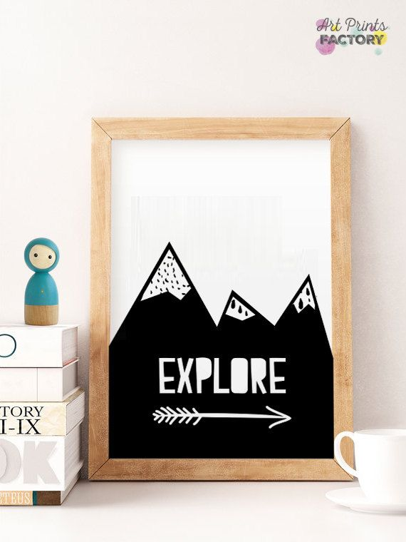 SALE Nursery Prints, Print mountains arrow, Kids Playroom Decor, Printable Wall Art, Wall Art Kids, explore black arrows, nursery print 22  This is a DIGITAL wall art download item, NO PHYSICAL item, and your purchase does not include a frame or mat.   ----------------------- ♥ YOU WILL RECEIVE: -------------------------------------  PRINT MOUNTAINS - 1x high resolution (300 dpi) JPG file - size 8x10 inches - 1x high resolution (300 dpi) JPG file - size 11x14 inches - 1x high resolution (300…