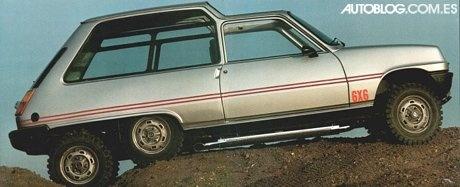 sbarro Renault 5 6×6 Where are the imaginative designers today?