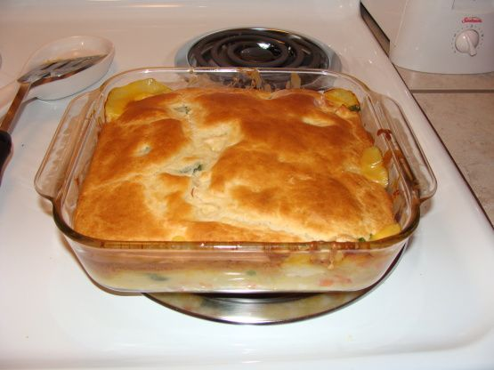 trisha's chicken pot pie recipe