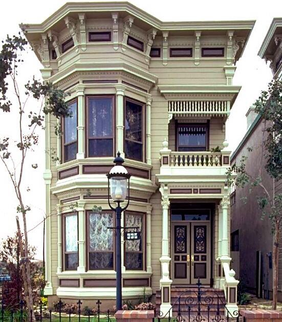 151 best victorian exterior interior images on pinterest for San francisco victorian houses history