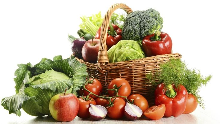 Next time you sit down to a meal notice how many fruits and veggies you  have on your plate. Is half of it filled with these disease fighting  foods?