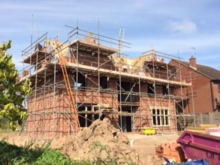 The latest #photography from our new build development in Warwick #housebuilding #newbuild #development #build #building #builder #construction #home #house #dwelling #brick - www.belwell.co.uk