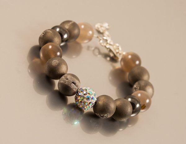 jej wysokość szarość - bransoletka Crepuscule (projektant Amatu), do kupienia w DecoBazaar.com, hand made Amatu jewelry