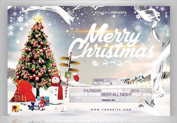 Church Flyer Template Photoshop Christmas Card Template Christmas Card Photoshop Create Christmas Cards