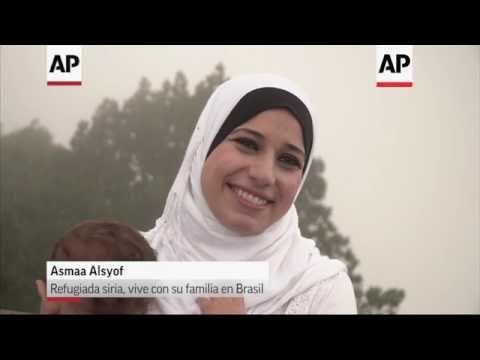 Piden paz niños refugiados en Brasil en sexto aniversario de guerra siria