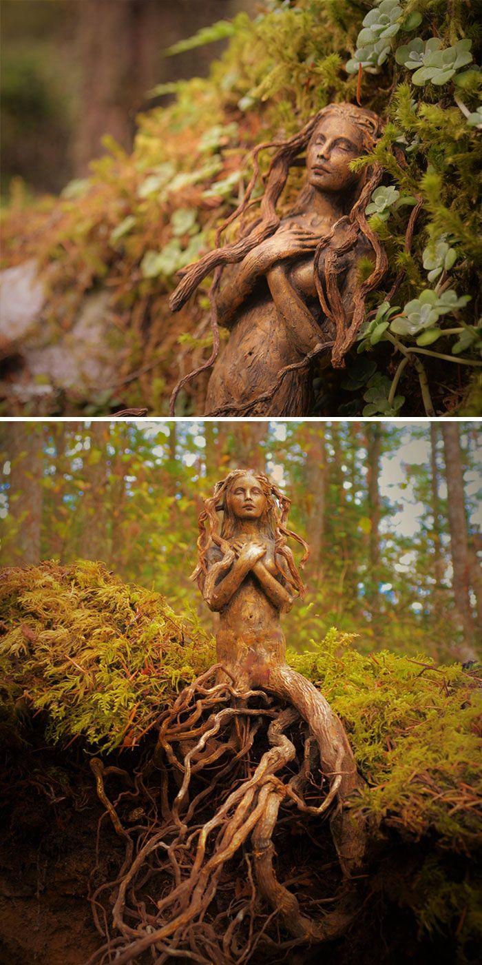 Les Sculptures de Debra Bernier racontent les Histoires oubliées de l'Océan - Chambre237