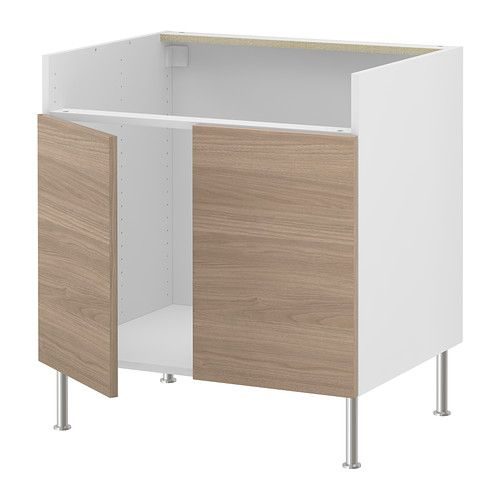 AKURUM Base cab f DOMSJÖ single bowl sink IKEA