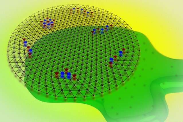 """Scientists detect a quantum crystal of electrons and """"watch"""" it melt"""
