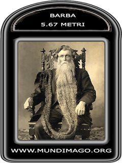 CORPI DIPINTI: Barba più lunga del mondo