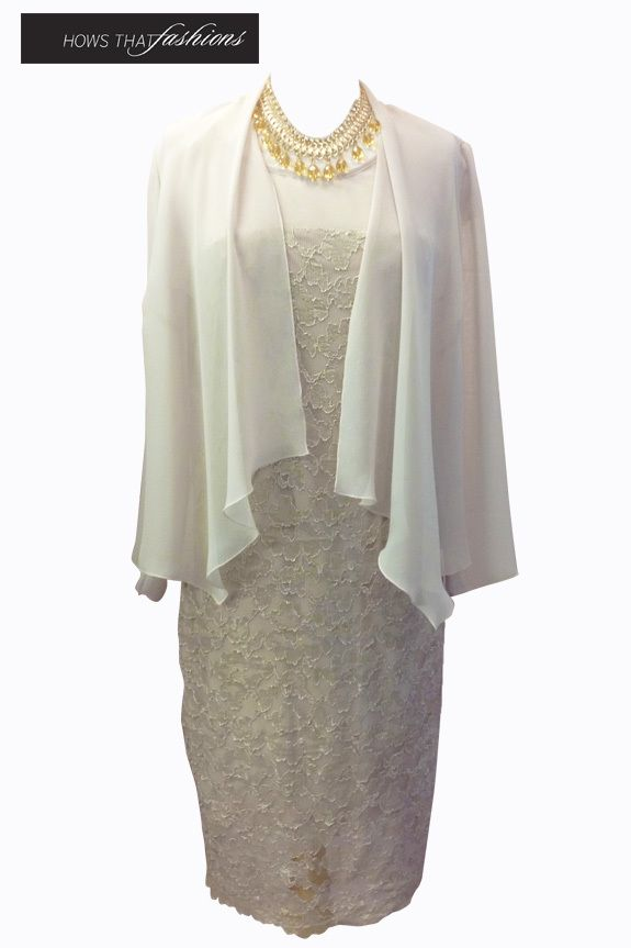 Available at Hows That Fashions Laura K - L6199 $279.00