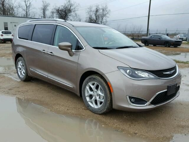 Salvage 2017 Chrysler Pacifica T Chrysler Pacifica Salvage Cars