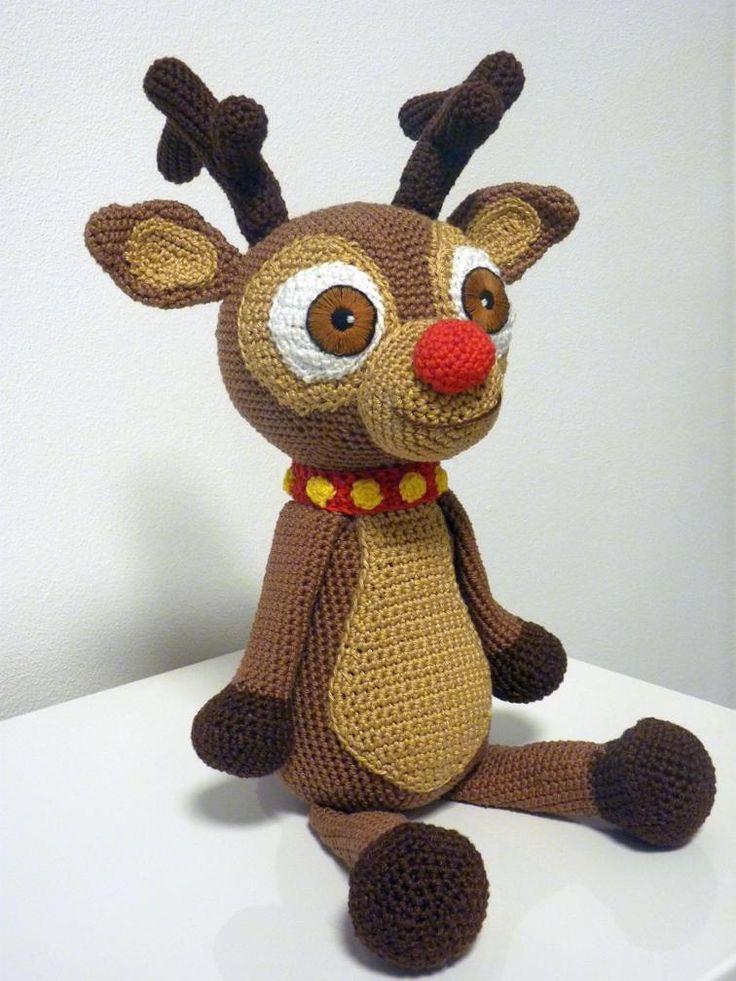 Crochet Reindeer Andy Pattern Amigurumi | Craftsy $4.80