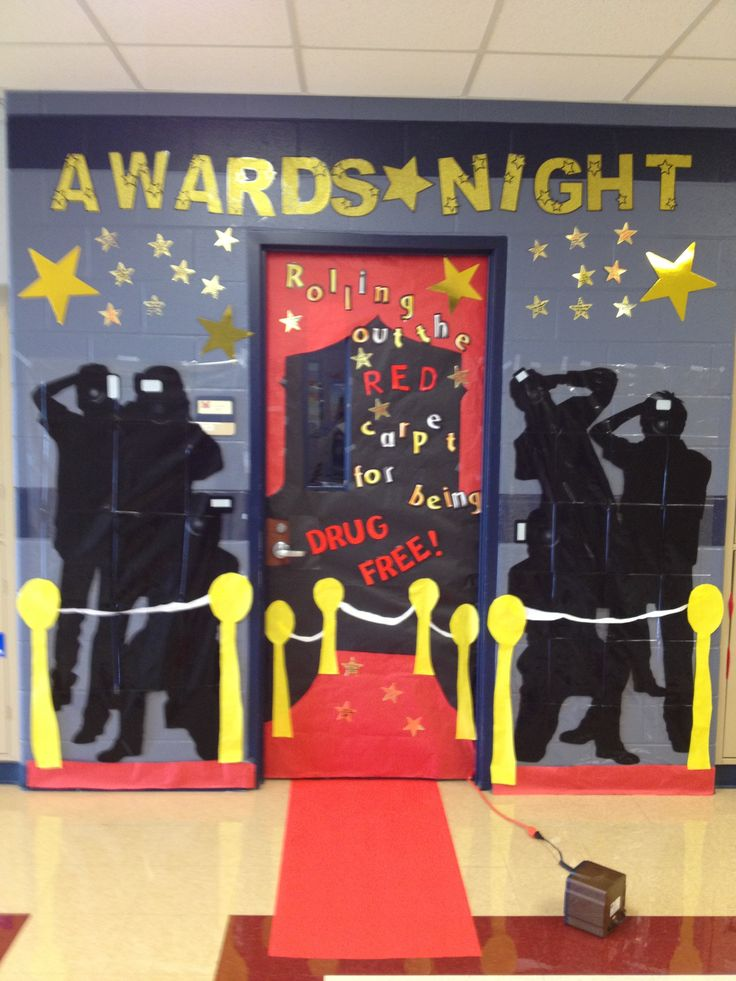 Best 148 Red Ribbon Week Door Decorating Ideas Images On