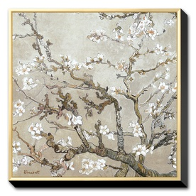 Van Gogh White Cherry Blossoms possible to do with natural pigments.