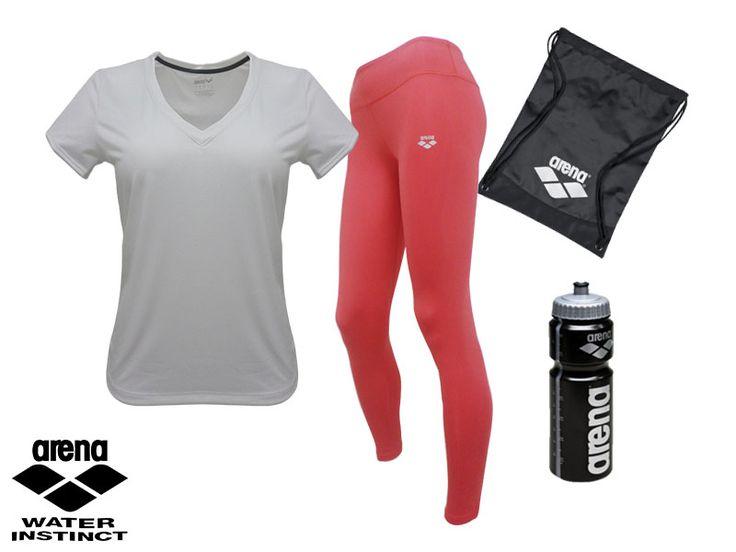 ¿Qué mejor regalo que este #outfit?, Arena te ofrece lo que necesitas para cada día de entrenamiento #Deporte #Sport