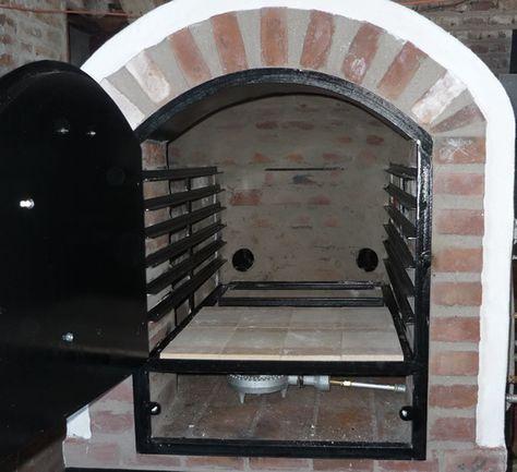 Hornos de barro a leña y a gas Tatacuá - Modelo Pizzero-Panadero II