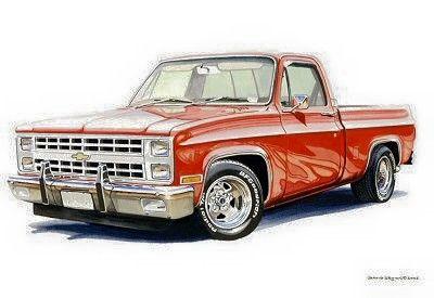 Chevrolet Car Truck Bed