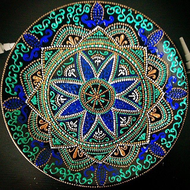 Декративная тарелка 21 см #тарелка #часыказань #казань #казаньподарки…