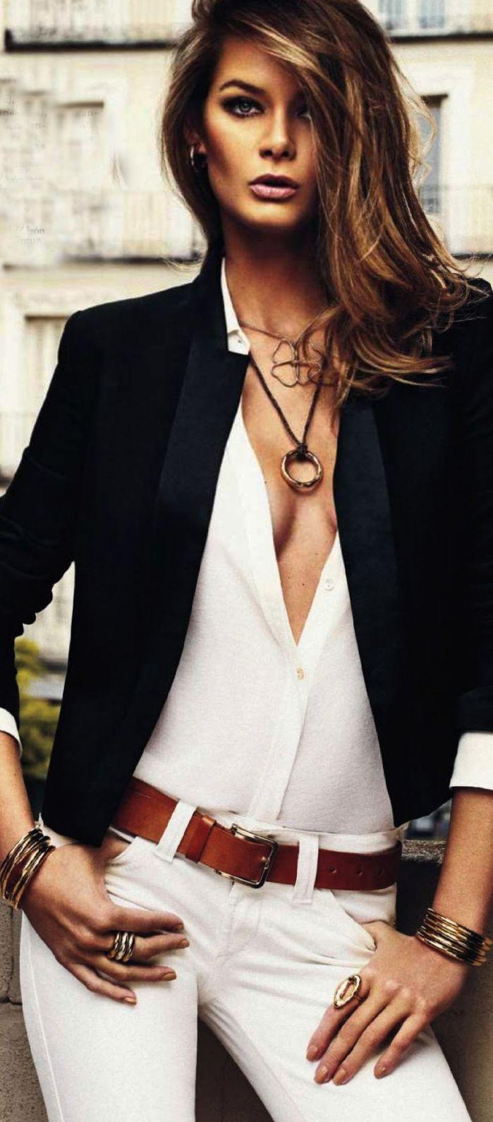 Flavia de Oliveira for Elle Spain