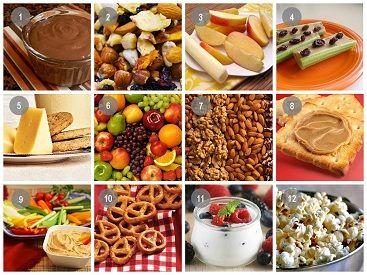 Safe snacks for your health and diet