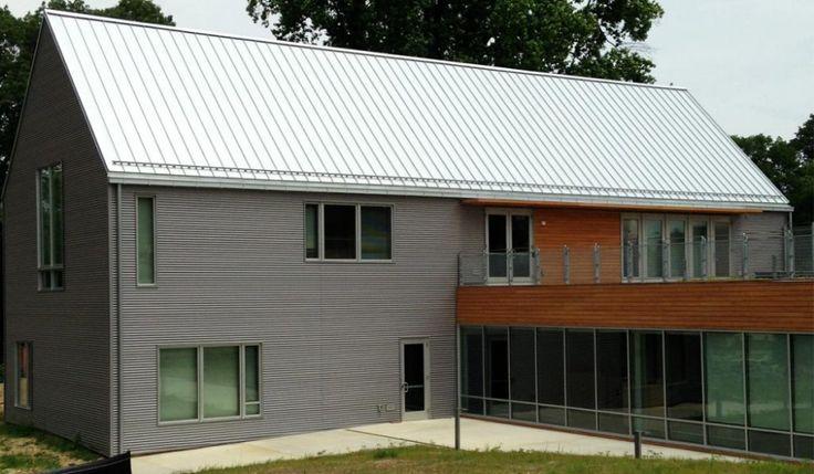 corrugated metal cladding profiles vertical vs horizontal