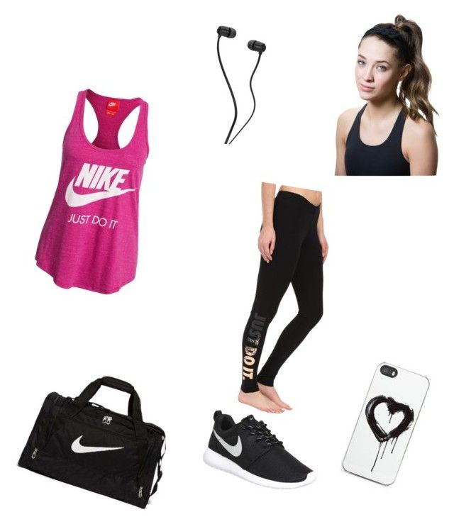 """""""working out"""" by fabulouschloe on Polyvore featuring NIKE, Titika and Zero Gravity"""