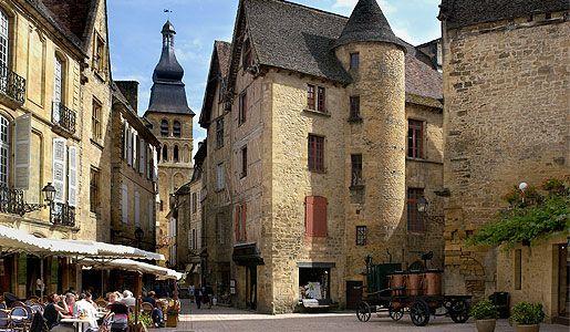 Sarlat Town Square france dordogne