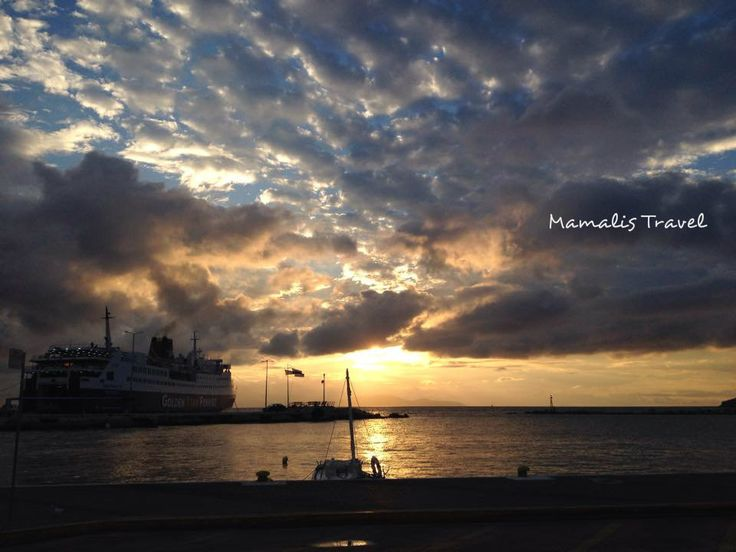Morning view.....SuperferryII- Rafina Port,Greece