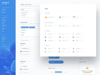 Optimize — UI Style Guide 2.0 by Tomasz Zagórski
