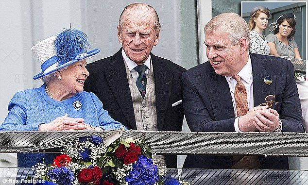 Prince Andrew (pictured with his parents) has emerged ¿ unexpectedly ¿ as a key figure in ...