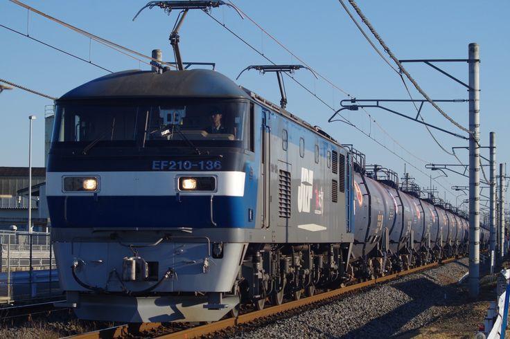 東北本線貨物列車