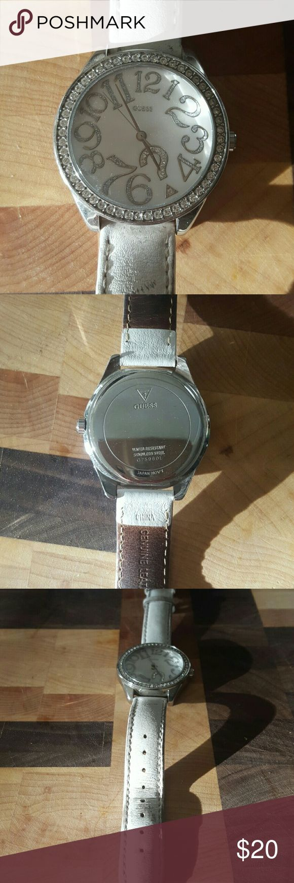 Womens Guess Watch One of my favorites- probably needs new band if you want the brand new look Guess Jewelry