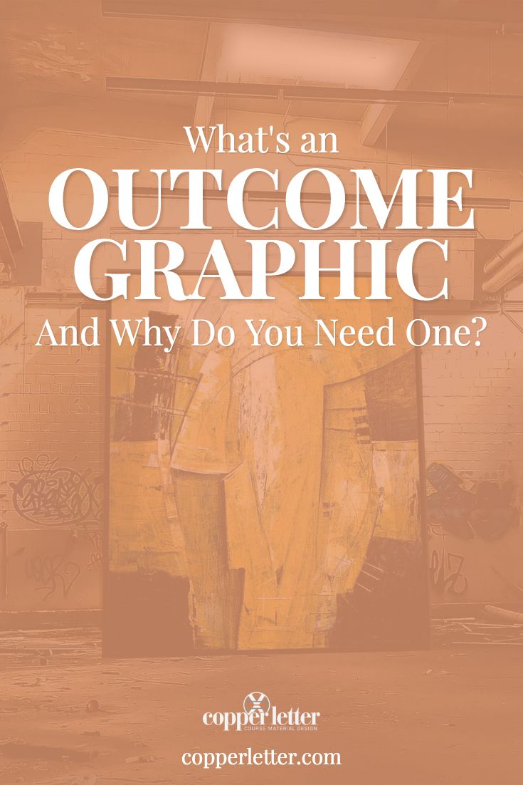 Outcome graphics are a great way to promote your course to your audience. See why we think they're important and how you can make one for your course.