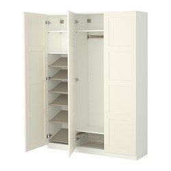 PAX Wardrobe with interior fittings - standard hinges - IKEA