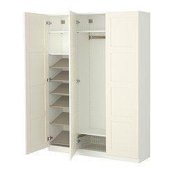 pax wardrobe wardrobes and ikea on pinterest. Black Bedroom Furniture Sets. Home Design Ideas