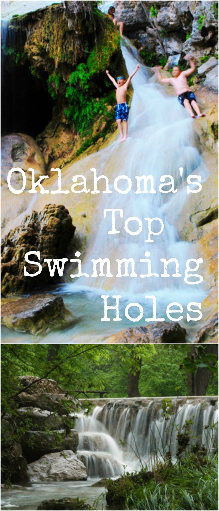 Trade in the traditional pools and water parks for a unique summer experience at one of Oklahoma's natural swimming holes.