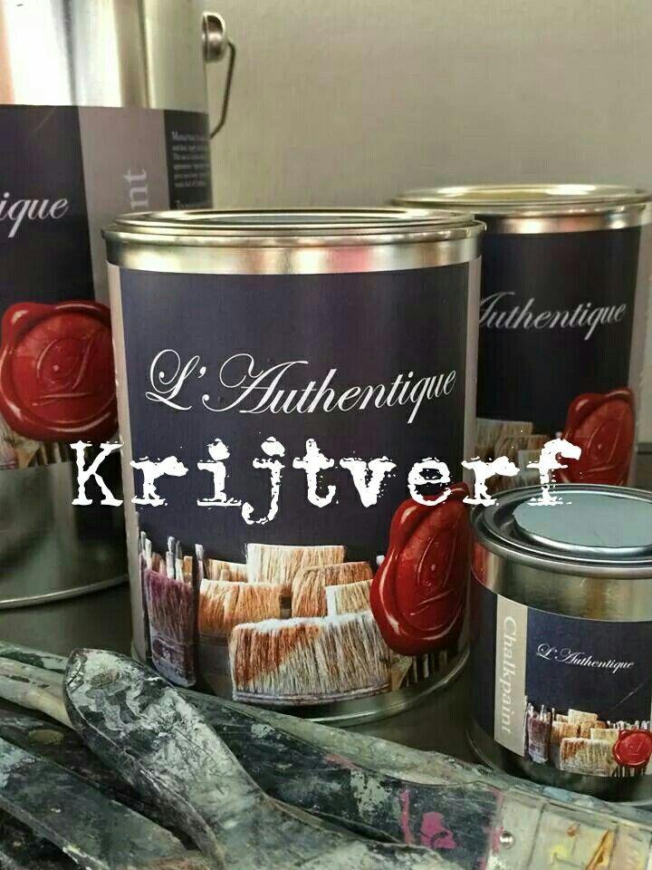 Krijtverf van L'Authentique bij ons te koop.