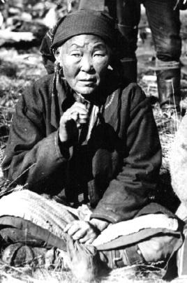 Evenk woman. Ilimpeya, 1930.