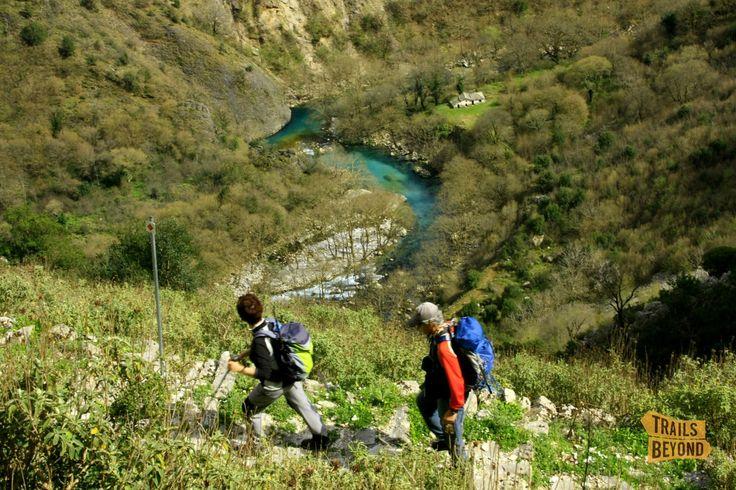 Hiking Vikos gorge, Zagori, Greece