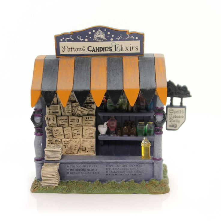 Department 56 Accessory Spells & Potions Kiosk Village Halloween Accessory