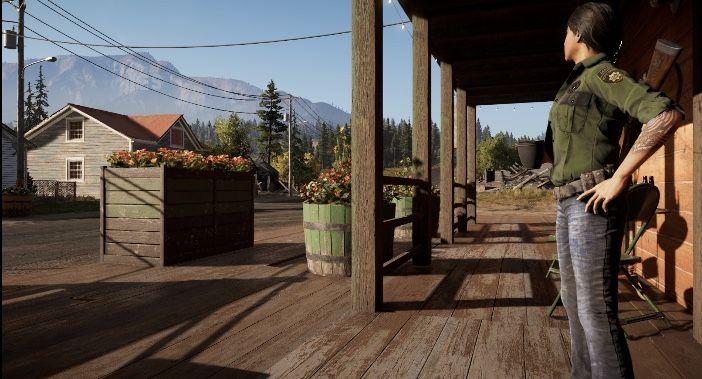 Deputy Hudson In Fall S End Holland Valley Far Cry 5 Far Cry 5 Far Cry Game Crying