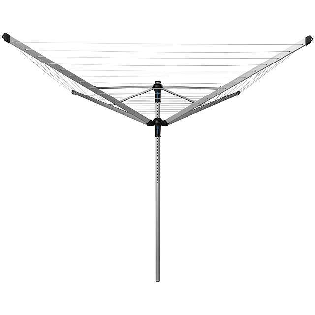 BuyBrabantia Lift-O-Matic Advance Outdoor Rotary Airer, with Ground Tube, Cover and Peg Bag, 60m Online at johnlewis.com