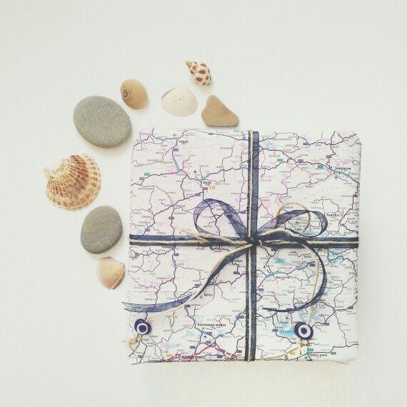 #pocket #gift #present #map #design
