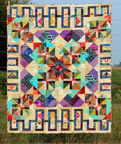 Dreaming in Fabric - A Quilt by Kim Lapacek