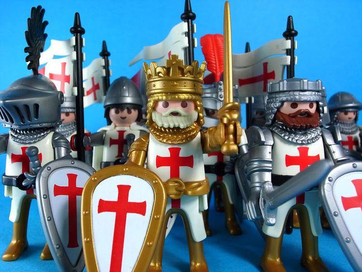 Templar knight playmobil!