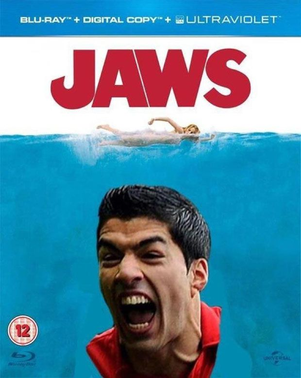 Luis Suarez bite virals sweep the web | The Sun |Features