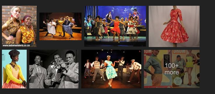 Sophiatown Theatre Dress Inspiration Sophiatown Theme
